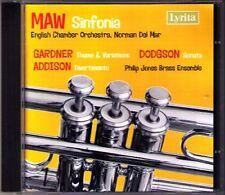 Nicholas MAW Sinfonia ADDISON Divertimento GARDNER DODGSON Philip Jones Brass CD