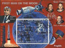 Nordjemen Block109 (kompl.Ausg.) gestempelt 1969 Bemannte Mondlandung