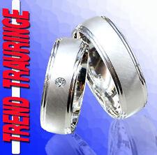 2 Trend Trauringe RINGE Verlobungsringe Silber 925 & Gravur GRATIS * T29-1