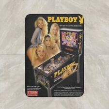 Playboy Pinball Game Rug Mat Entrance Floor Door Cotton