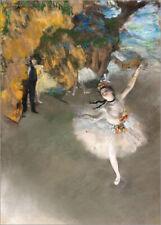 Poster / Leinwandbild Der Star - Edgar Degas