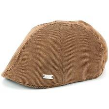 Hat Corduroy Duckbill Flat Cap Brown Navy Grey Gatsby Cabbie Baker Newsboy New