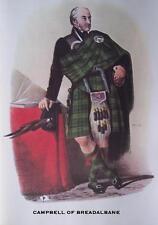 Clan Campbell of Breadalbane - Scottish Tartan Art Print - MATTED