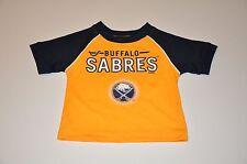 NWOT Buffalo Sabres Boys Toddler Infant Baby Jersey (12M) T-Shirt Shirt Hat 72cf3568d