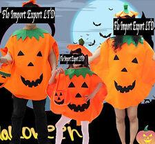 Halloween Carnevale Costume Zucca Pumpkin Dress up Costume PMK001-2