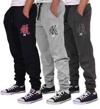 Nickelson Hombre Hip Hop Polar Pantalón de Chándal Pantalones G Money Is Time