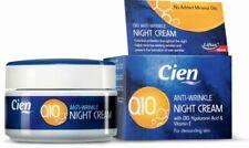 Cien Anti-Wrinkle Night Cream With Q10 Hyaluronic Acid And Vitamin E 50ml Liftan