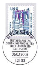 BRD 2003: Giebelhäuser in Wismar! SWK Nr. 2323 mit Berliner Sonderstempel! 1A