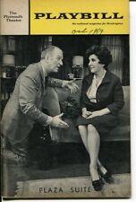 Maureen Stapleton Don Porter Lynda Myles Neil Simon Plaza Suite Playbill