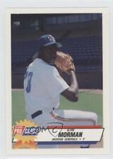 1993 Fleer ProCards Minor League #2108 Alvin Morman Jackson Generals Rookie Card