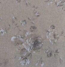 "Vintage Linen Petite Faded Rose Grey 140cm/54"" Curtain/Craft Fabric"