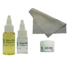 Clarinet Maintenance Kit, Bore Oil, Key Oil, Polishing Cloth, Cork Grease, USA!