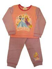 Girls Kids Disney Princess Pyjamas Set Nightwear  1 2 3 4 5 Years
