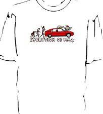 "Citroen BX  ""Evolution of Man - Carwash"" t-shirt"