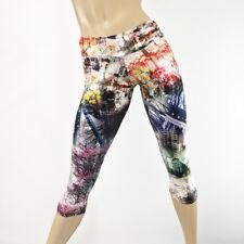Cherry Blossom Hot Yoga Pants Low Rise Capri Printed Leggings SXYFITNESS USA