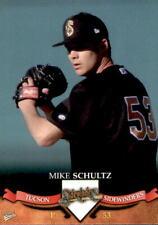 2007 Tucson Sidewinders Multi-Ad #29 Mike Schultz Van Nuys California CA Card