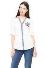 Desigual White & Bright Diamond Pattern Belinda Shirt S-XXL UK 10-18 RRP�79
