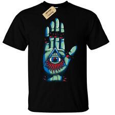 illuminati hand Mens T-Shirt goth rock punk metal mystical