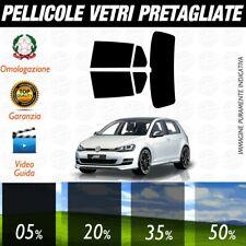 Volkswagen Golf 7 / GTI 5P dal 2012 ad OGGI Pellicole Oscuramento Vetri Auto Pre
