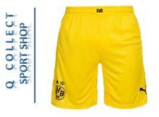 PUMA BVB Borussia Dortmund Fußball Hose Shorts Trainingshose gelb