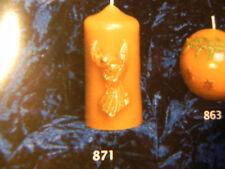 Kerzengießform,St.Engel 9x7cm,Bienenwachs,Imkerei(871),Kerzengiessform,Imker