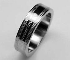 """Acero inoxidable *** anillo """"Forever Love"""" banda anillo Anillo de pareja anillo de la promesa"""