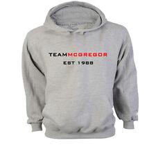 Team McGregor Conor UFC MMA Federgewicht Kapuzenpulli Sweatshirt Pulli