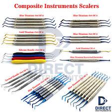 MEDENTRA Range of Dental Composite Filling Instruments Kit Restoration Placement
