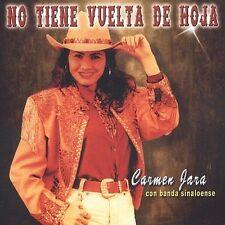 Jara, Carmen : No Tiene Vuelta De Hoja CD