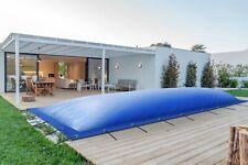 Aufblasbare Poolabdeckung Poolplane rechteckig aus LKW Plane 680 g/m² (1360g/m²)
