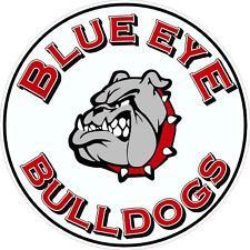 Blue Eye Bulldogs Sticker Decal - SM thru XL
