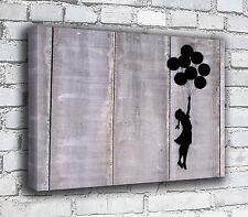 Banksy Canvas - Balloon Girl Wall