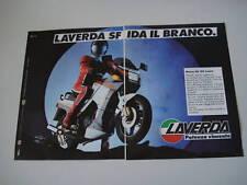 advertising Pubblicità 1986 MOTO LAVERDA GS 125 LESMO