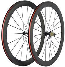 Roue De Vélo En Carbone 50mm Roue Clincher Roues De Vélo De Vélo De Route 700C