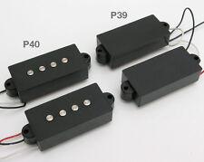 Black P-Style Bass Pickups 6.25k Ohms. P39 P40