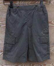 Jack Wolfskin Niños Short, ligero Pantalones cortos niños, oliva marrón