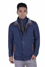 Doriani 100% Cashmere Suede Trimmed Jacket Detachable Vest SZ M L XL 2XL 3XL 4XL