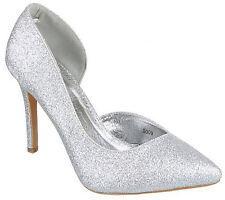 Scarpe eleganti donna scarpe donna scarpe aperte lato lurex scarpe tacco alto