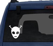 Space Alien #13 - Monster Face Antenna Cosmos Asgard - Car Tablet Vinyl Decal