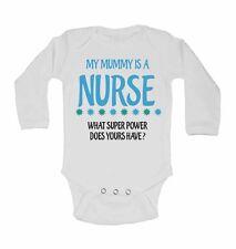 Mi Mamá Is A Enfermera Lo Super Power Hace Yours Have? - De Manga Larga Body