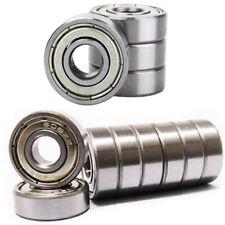 608ZZ Ball Bearings - Fits PREMIUM ABEC-5 Rated - Skateboard, 3D Printer, RepRap