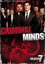Criminal Minds: The Seventh Season DVD NEW SEALED