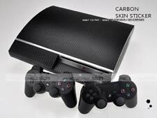 7 Colors Carbon Fiber Skin Sticker Sony PS3 Original Fat PlayStation 3 skins