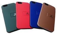 LUSSO iPhone SAMSUNG Custodia in pelle Grip Cover Telefono Cellulare Titolare della carta & supporto