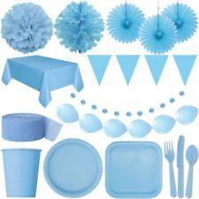 Hellblau Party Dekoration Junge Baby Shower 1. Geburtstag Deko Set Blau Farben