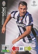 VUCINIC # MONTENEGRO JUVENTUS CHAMPIONS LEAGUE TRADING CARDS 2013