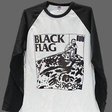 Hardcore Punk Rock T-Shirt Top de béisbol unisex manga larga S-2XL