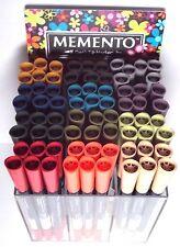 Tsukineko Memento Dual-Tip Markers 12 Colors You Pick - New