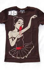 Akumu Ink Bloodlust Horror Ballerina Blood Black Swan Short Sleeved Tshirt