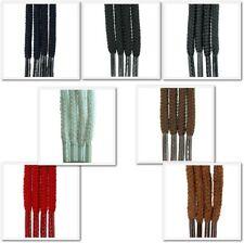 Ronda 2/3mm Cordones-Estándar De Colores-Para Botas, Zapatos, plimsoles & formadores